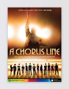 A Chorus Line Souvenir Program