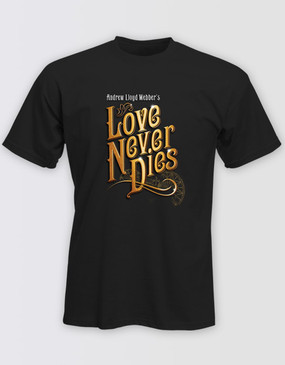 Love Never Dies Black Logo T-Shirt