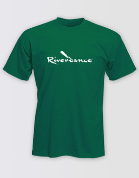 Riverdance Green Logo Shirt