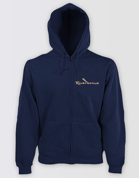 Riverdance Ladies Navy Hoody