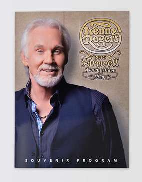 Kenny Rogers Souvenir Program