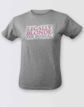 Legally Blonde Ladies Grey Logo Tee
