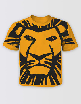 Lion King Kids All Over Print Tee