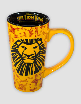Lion King Tall Latte Mug