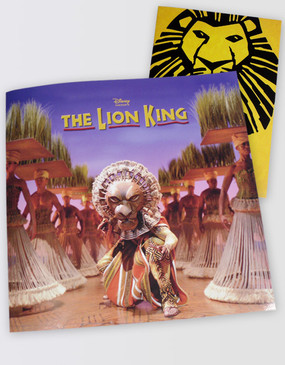 Lion King Souvenir Program