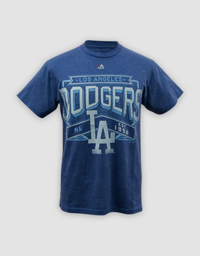 MLB LA Dodgers Mens Unassisted Tee - CLEARANCE