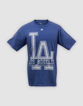 MLB LA Dodgers Mens 6th Inning Tee - CLEARANCE