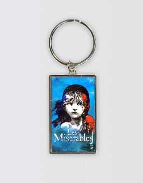 Les Miserables Australia Metal Key Fob