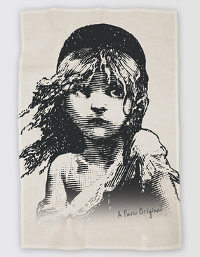 Les Miserables Australia Tea Towel