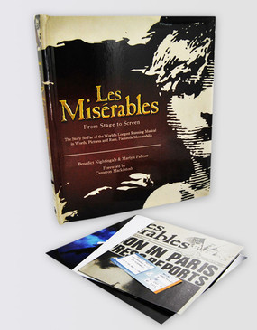 Les Miserables Stage to Screen Book