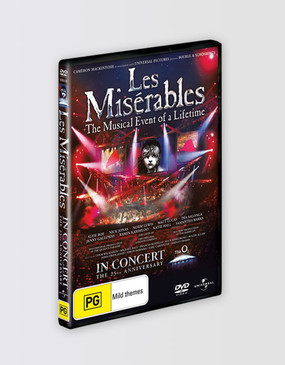 Les Miserables In Concert 25th Anniversary DVD