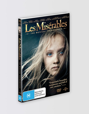 Les Miserables The Music Phenomenon Movie DVD