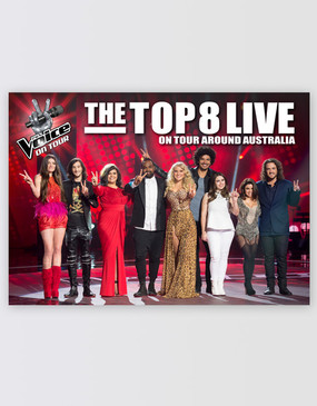 The Voice On Tour Poster