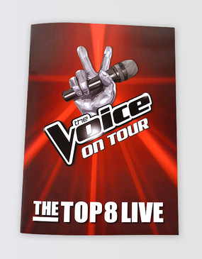 The Voice On Tour Souvenir Program