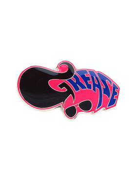 Grease Fridge Magnet - Pink
