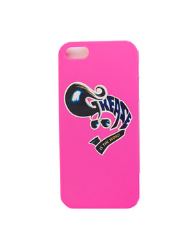 Grease Printed iPhone 4 Cover - Pink