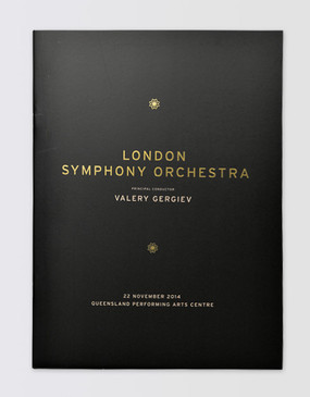 London Symphony Orchestra Souvenir Program - Brisbane