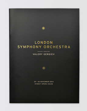 London Symphony Orchestra Souvenir Program - Sydney