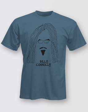 Billy Connolly Unisex Blue Tour Tee