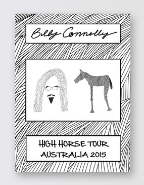 Billy Connolly Souvenir Program