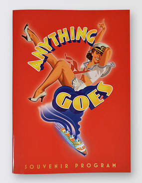Anything Goes Souvenir Program