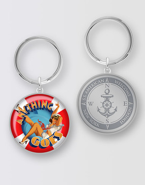 Anything Goes Keyring