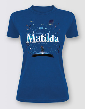 Matilda Full Graphic Tee  Ladies