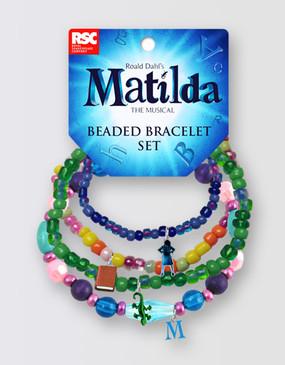 Matilda Beaded Charm Bracelet
