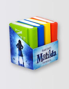 Matilda Eraser Set
