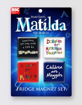 Matilda Magnet Set