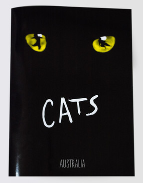 Cats Souvenir Program