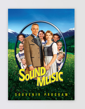 The Sound of Music Souvenir Program