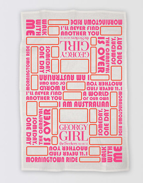Georgy Girl Tea Towel