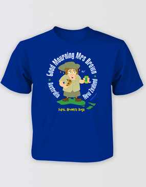 Mrs Brown's Boys Kids Blue Tour Tee