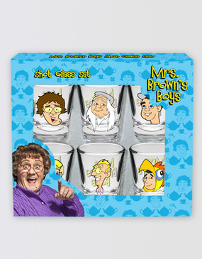 Mrs Brown's Boys Shot Glass Set