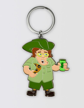 Mrs Brown's Boys Australian Keyring