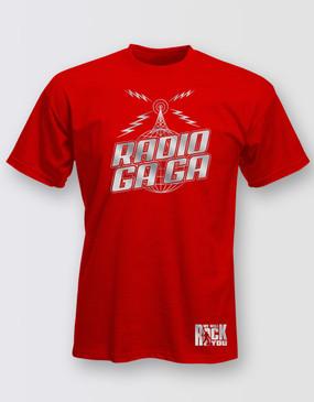 We Will Rock You Unisex Radio Gaga T-Shirt