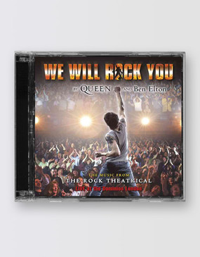 We Will Rock You London Cast Recording CD