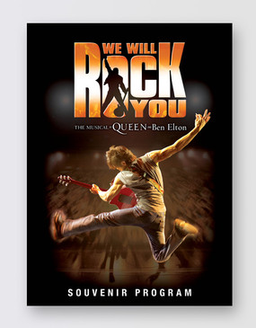 We Will Rock You Souvenir Program