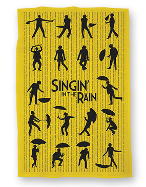 Singin' in the Rain Tea Towel