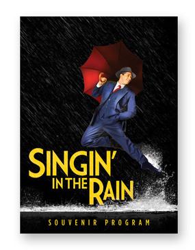 Singin' in the Rain Souvenir Program