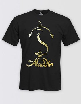 Aladdin Adults Foil T-Shirt