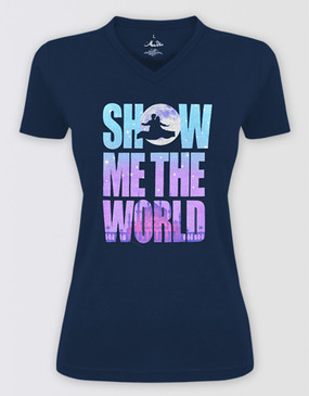Aladdin Ladies Show Me the World T-Shirt