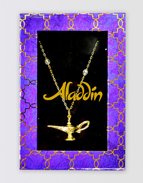 Aladdin Lamp Necklace