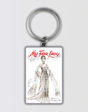 My Fair Lady Keyring