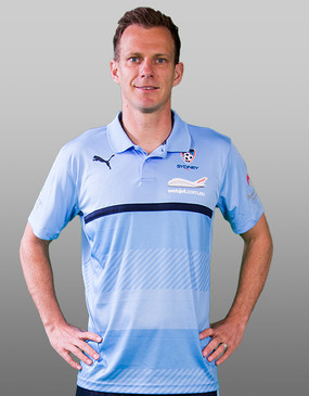 Sydney FC 16/17 Puma Adults Authentic Media Polo - Sky Blue - CLEARANCE