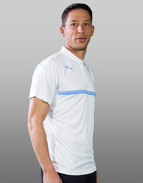 Sydney FC 16/17 Puma Adults Club Polo - White - CLEARANCE