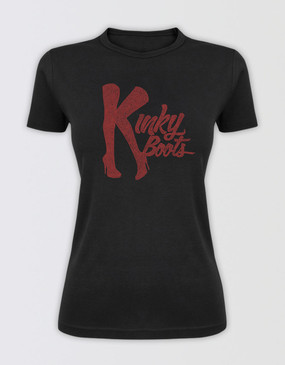 Kinky Boots Ladies Diamante T-Shirt