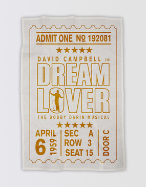 Dream Lover Tea Towel