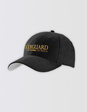 The Bodyguard Baseball Cap - Black